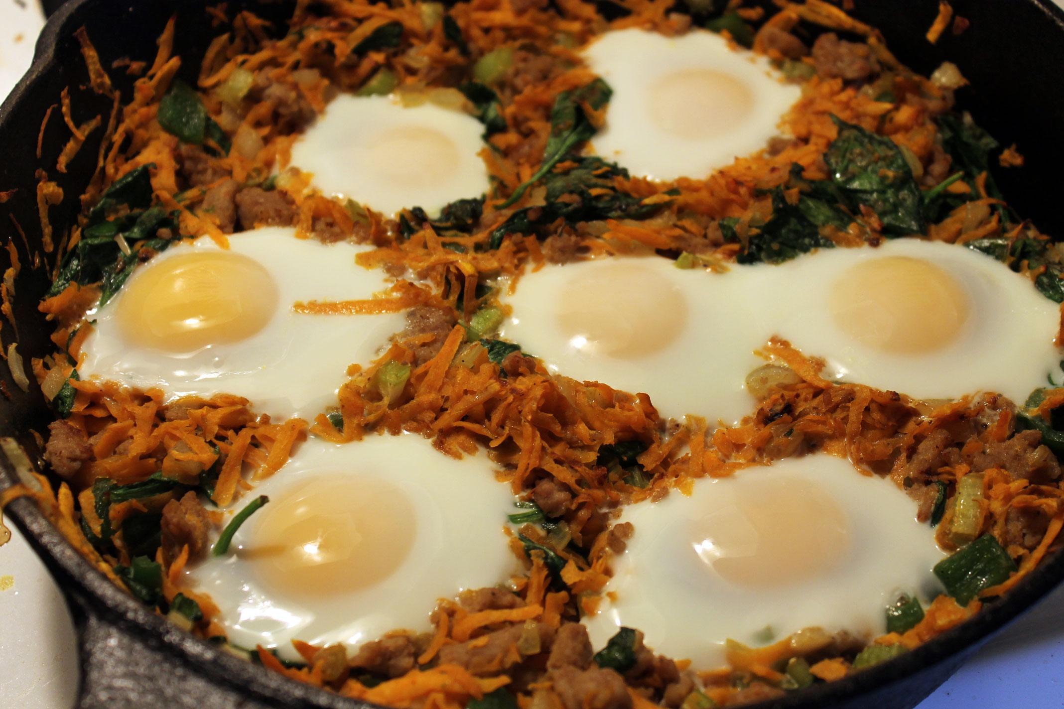 One-Pan Sweet Potato Breakfast Skillet