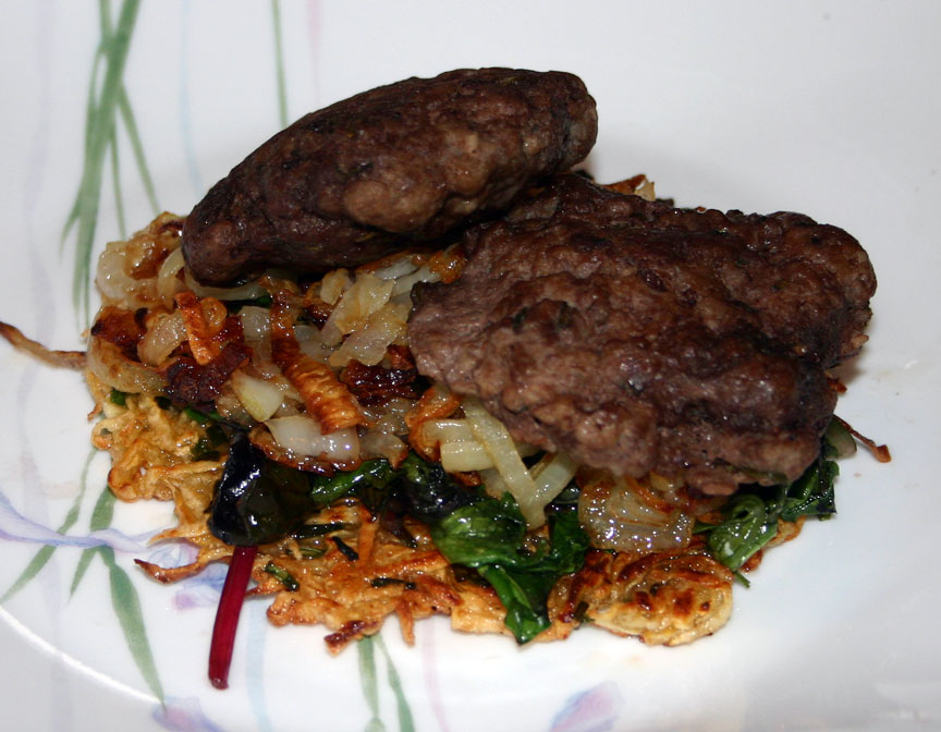 Herbed Beef Sausage Patties - AIP (1/3)