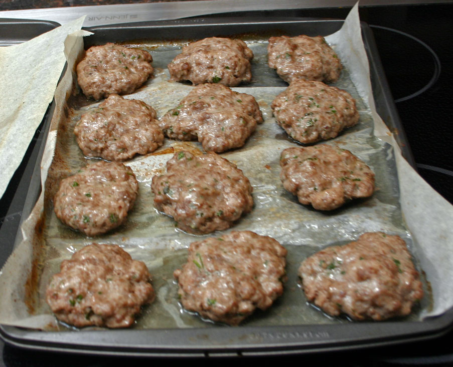 Herbed Beef Sausage Patties - AIP (2/3)